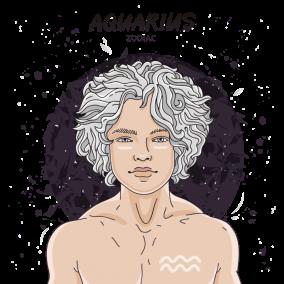 Aquarius Man – Bibliomina
